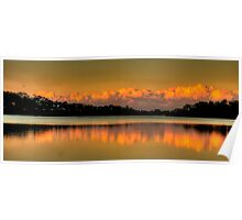 Mirror - Narrabeen Lakes, Sydney - The HDR Experience Poster