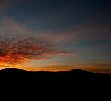 Sunset Behind Queenstown by Shane Viper