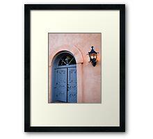 Lighting up Old Town Framed Print