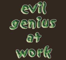 evil genius at work by vampvamp