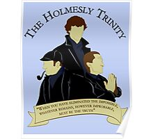 The Holmesly Trinity Poster