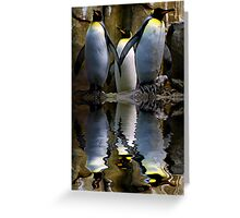 King Penguin, Antarctic, Montreal Biodome Greeting Card