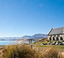 The Church of the Good Shepherd, Lake Tekapo by pennyswork