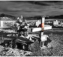Indian Cemetary Photographic Print