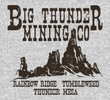 Big Thunder Mining Co One Piece - Long Sleeve
