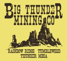 Big Thunder Mining Co Kids Tee