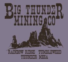 Big Thunder Mining Co Kids Tee