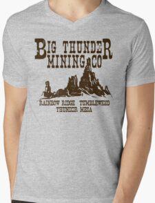 Big Thunder Mining Co Mens V-Neck T-Shirt