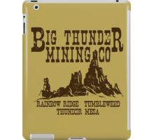 Big Thunder Mining Co iPad Case/Skin