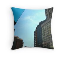 The Shape of Toronto Throw Pillow