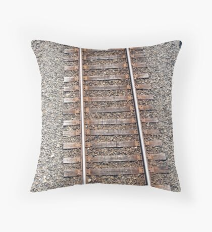 Distance Travelled Throw Pillow