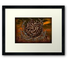 adventures of beasts  Framed Print