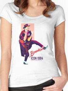 ICON 1984 Retro Women's Fitted Scoop T-Shirt