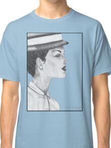 1950's Female: In Profile Classic T-Shirt