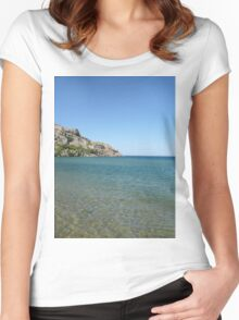 Edge of the Castle Women's Fitted Scoop T-Shirt