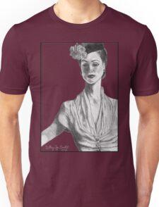 1940's Model Unisex T-Shirt