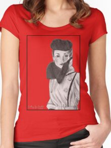 Spy Women's Fitted Scoop T-Shirt