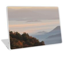 Sun-Kissed Mountain Mists Of October Dawn Laptop Skin