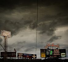 Stormy Fenway by Jon Yager