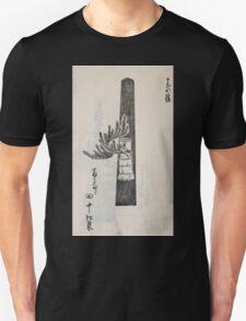 Yenshu ryu ikebana hiak bin no zu shiki konzatsu Flower arrangement in the Enshu style V1 1897 0036 T-Shirt