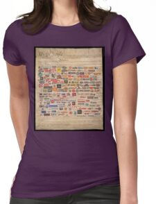 We the people  Womens Fitted T-Shirt