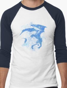 Dragonfight-cooltexture Inverted Men's Baseball ¾ T-Shirt
