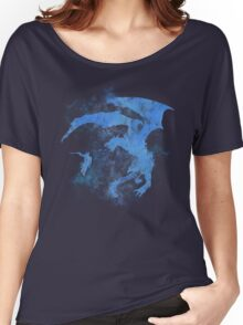 Dragonfight-cooltexture Inverted Women's Relaxed Fit T-Shirt