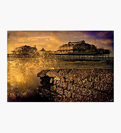 Gone But Not Forgotten, West Pier Brighton Photographic Print