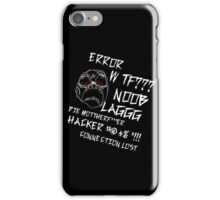 When you are mad  iPhone Case/Skin