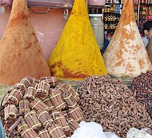 Spices - Marrakech by Alison Howson