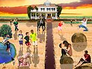 Childhood in a Golden Field by Moshe Cohen