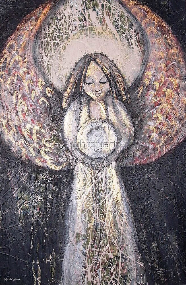 Healing ANGEL by whittyart