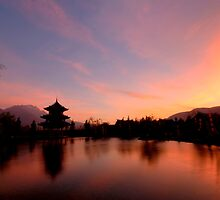 Sunrise @ Lijiang by mikejctoh