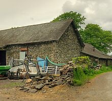 The Barn At The End Of The Lane... by Jamie  Green