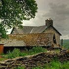 The Farmhouse At The End Of The Lane by Jamie  Green
