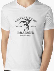 Summon A Dragon  Mens V-Neck T-Shirt