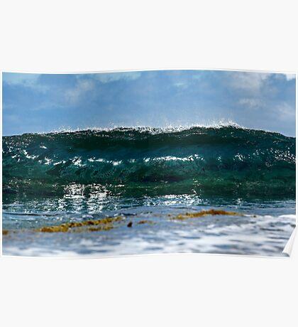Straight at ya... (the waves series) Poster