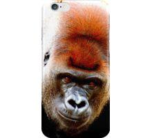 Leaning Gorilla iPhone Case/Skin