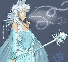 The Snow Queen by vmillzyy