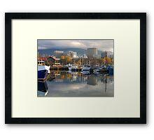Reflections of Hobart Framed Print
