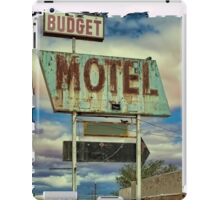 Route 66 Budget Motel iPhone 4 Case iPad Case/Skin