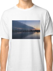 The Urge to Sail Away - Violet Sky Reflecting in Lake Ontario in Toronto, Canada Classic T-Shirt