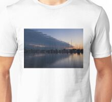 The Urge to Sail Away - Violet Sky Reflecting in Lake Ontario in Toronto, Canada Unisex T-Shirt
