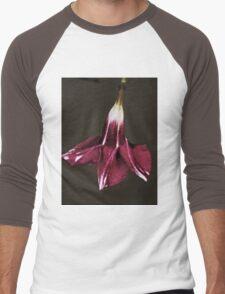 Flower In A Garden Men's Baseball ¾ T-Shirt