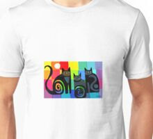 Colourful cats 53 paper T-Shirt