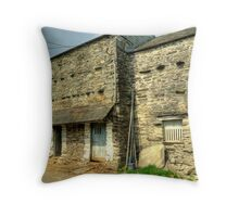 A Working Barn.. Throw Pillow