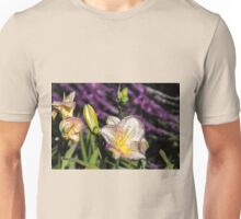 The texture of the lily Unisex T-Shirt