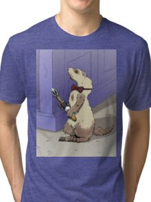 Ferret Who Tri-blend T-Shirt