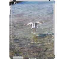 Nature - seagull just a drop in the ocean iPad Case/Skin
