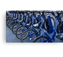 Cycling Melbourne Anyone? Canvas Print